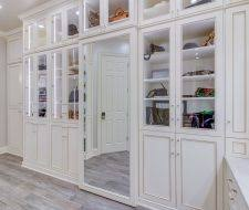 custom walk in closets. Delighful Closets Dressing Room Closet Features Larges Mirror Inserts In Doors For Custom Walk In Closets T
