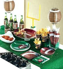 football themed centerpieces football party decorations football party decorations homemade football birthday party decorations diy