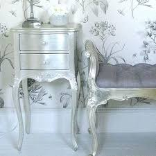 The French Bedroom Company French Silver Furniture Silver Bedside Table  From The French Bedroom Company Cheap