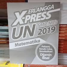 Buku ini juga bisa digunakan untuk sekolah yang sudah melaksanakan unbk karena dilengkapi cd. Kunci Jawaban Erlangga Xpress Un 2019 Bahasa Indonesia Smp