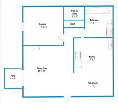 Nice Simple Floor Plan  Replace Laundry For Stairs And Mudroom Simple Floor Plan