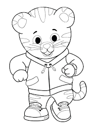 Coloring Pages Free Printable Tigers Neighborhood Tiger Coloring