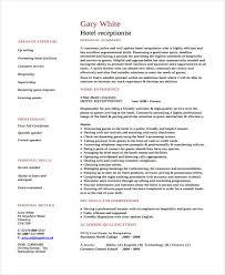 Curriculum Vitae Tamplates 9 Hospitality Curriculum Vitae Word Pdf Free Premium Templates