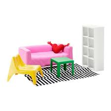 HUSET Doll Furniture Living Room  Ikea