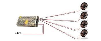 how do i power my led tape 12v led power supply driving multiple led strips