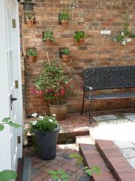 Small Picture Garden brick wall design ideas landscape traditional with wood