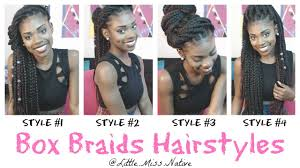Box Braid Hair Style box braids hairstyles youtube 4505 by wearticles.com