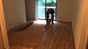hardwood over carpet part 1