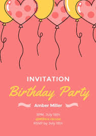 make birthday invitation cards