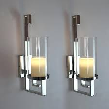 silver candle sconces for wall home decor wall candle sconces beautiful decorative wall sconces within wall sconces candle remodel silver wall mounted