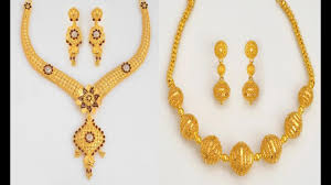 Josco Gold Jewellery Designs With Price Top 10 Light Weight Short Gold Necklace Designs