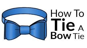 How To Tie A Bow-Tie   Easy Guide To Bow Tie Knots   Best BowTie Video  Tutorial - YouTube