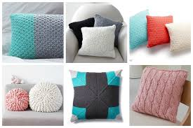easy pillow designs. brighten up your home with one of these 20 cute pillow patterns you can knit easy designs