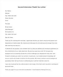 Second Interview Cover Letter Sales Cover Letter Example Job