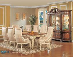 exclusive dining room furniture. Meja Makan Ukir Klasik Mewah Terbaru Spacious Exclusive Dining Room Furniture