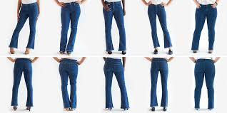 Levis Mens Jeans Style Chart 10 Best Types Of Jeans For Women Flattering Denim Styles