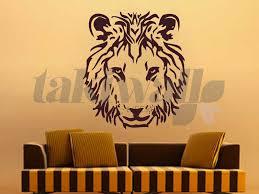 Small Picture Dubai print sticker Lion Face Animals DUBAI SHOP