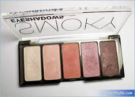 h m smoky pink eyeshadow palette review 2