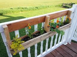 Mounted Flower Box for Deck