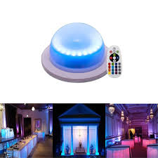 Under Table Lighting Rgb 16 Color Options Remote Control Chargable Under Table Light Outdoor Indoor Wireless Remote Control Led Garden Corridor Night Light For Home