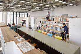 office studio design. Osaka Office By Nikken Space Design Studio D