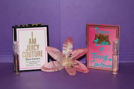 lot of 2 designer perfume sles from juicy couture i am juicy peace love ebay