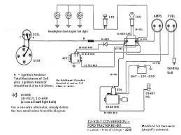 ford jubilee 12 volt light wiring 1 wire alternator ford wiring how to change a 6 volt to 12 volt at 8n 12 Volt Wiring Diagram
