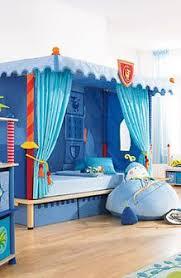 Kids canopy bed (boys: knight) - KNIGHT - HABA | House: Misc ...
