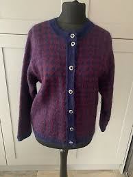VERY RARE IVA Knight vintage sweater 70s/80s / pure wool / made in  Edinburgh - £65.00 | PicClick UK