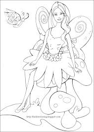 Small Picture Barbie In A Fashion Fairytale Coloring Pages Coloring Pages Gallery