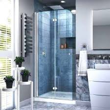 hinged glass shower door aqua aluminium pivot hinge for 6mm glass shower door