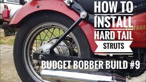 budget bobber build 9 how to install hell bend hardtail