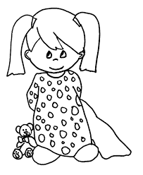 Small Picture American Girl Bitty Baby Coloring Page Within Coloring Pages esonme