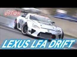 Lexus Lfa Drift V Opt ?? Youtube