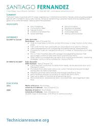 Resume Examples Sales Associate Retail Best Of Resume Objective For Retail Sales Associate Resume Objective
