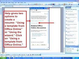 Resume Template Microsoft Word 2003 Microsoft Office 2003 Resume