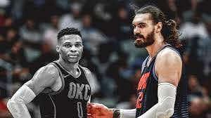 Russell Westbrook out, Steven Adams ...