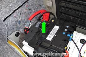 bmw e battery replacement e e e pelican parts diy large image