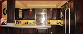 Wood Trim Kitchen Cabinets White Kitchen Cabinets Dark Wood Trim Kitchen