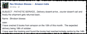 Amazon And India Sai In Delivery Tanay Screws Using Up System Post Starts Its