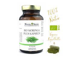 Modern Natura Bio Moringa Oleifera 500mg 90 Kapseln Vegan