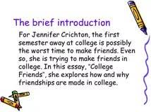 first friend essay my first friend essay