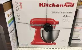 Target Small Kitchen Appliances Kitchenaid Artisan 35 Quart Stand Mixer As Low As 21943 At