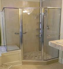 semi framless shower door glass panels