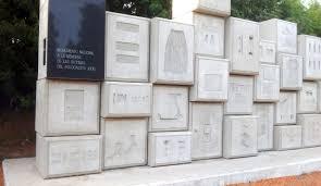 Monumento a las victimas del holocausto judio.