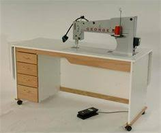 Viking 18x8 Long Arm Quilting Machine | Long arm quilting machine ... & George is a stationary, sit-down longarm quilting machine with a generous  throat space and a large, flat work-space to easily maneuver your quilt. Adamdwight.com