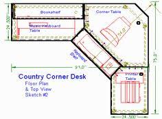 Computer corner desk plans Computer corner desk plans L shape desks with a  hutch like these really deliver in providing that extra storage in the  tightest ...