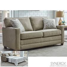 landree fabric full size sleeper sofa