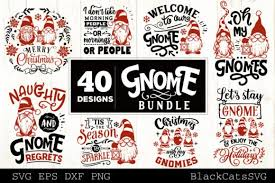 Our svg files are ready to use with cricut and silhouette cutting machines. Christmas Gnomes Svg Bundle Gnome Bundle Graphic By Blackcatsmedia Creative Fabrica