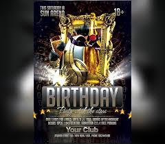 Birthday Celebration Party Flyer Template